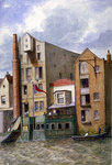 Anchor and Hope Inn, New Crane Stairs, Shadwell, London Fine Art Print by Walter Greaves