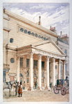 The Theatre Royal, Haymarket, Westminster, London Fine Art Print by Nikolai Egorevich Sverchkov