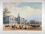Horse Guards, Westminster, London Postcards, Greetings Cards, Art Prints, Canvas, Framed Pictures & Wall Art by Thomas Hosmer Shepherd