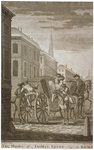 Scene of Thomas Thynne's murder in Pall Mall, Westminster, London, 1682 (c1775) Fine Art Print by French School