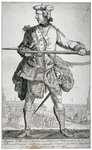 Samuel McPherson, Scottish soldier Fine Art Print by Richard Caton II Woodville