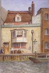 The Black Boy Inn, St Katherine's Way, Stepney, London Fine Art Print by Walter Greaves