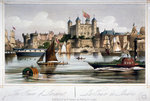 Tower of London Postcards, Greetings Cards, Art Prints, Canvas, Framed Pictures & Wall Art by N. and Ives, J.M. Currier