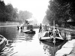 Boats on Regent's Canal, London Fine Art Print by Tony Todd