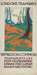 Wimbledon Common, London County Council (LCC) Tramways poster Fine Art Print by Tony Todd