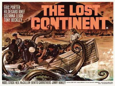 THE LOST CONTINENT (restored) Postcards, Greetings Cards, Art Prints, Canvas, Framed Pictures & Wall Art by Tom Chantrell