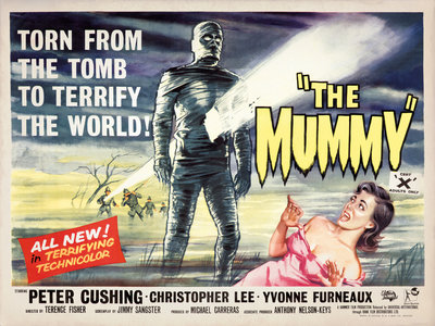 THE MUMMY (aged) Wall Art & Canvas Prints by Bill Wiggins