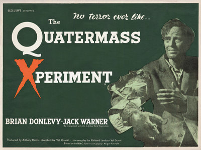 THE QUATERMASS XPERIMENT (aged) by Anonymous - print