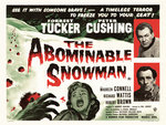 THE ABOMINABLE SNOWMAN (restored) Fine Art Print by Tom Chantrell