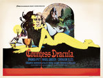 COUNTESS DRACULA (aged) by Tom Chantrell - print