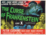 THE CURSE OF FRANKENSTEIN (aged) Wall Art & Canvas Prints by Hoo-Ha