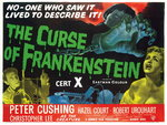 THE CURSE OF FRANKENSTEIN (restored) Fine Art Print by Tom Chantrell