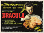 DRACULA (aged) Wall Art & Canvas Prints by Tom Chantrell