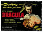 DRACULA (restored) Poster Art Print by Tom Chantrell