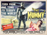 THE MUMMY (aged) Wall Art & Canvas Prints by Tom Chantrell