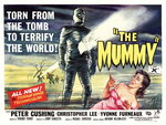 THE MUMMY (restored) Wall Art & Canvas Prints by Tom Chantrell
