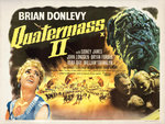 QUATERMASS 2 (aged) Poster Art Print by Tom Chantrell