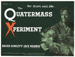 THE QUATERMASS XPERIMENT (restored) Fine Art Print by Tom Chantrell
