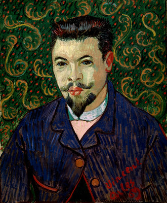 Portrait of Doctor Felix Rey Fine Art Print by Vincent Van Gogh