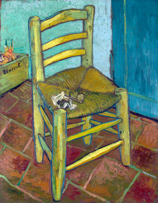 Van Gogh's Chair Wall Art & Canvas Prints by Vincent Van Gogh