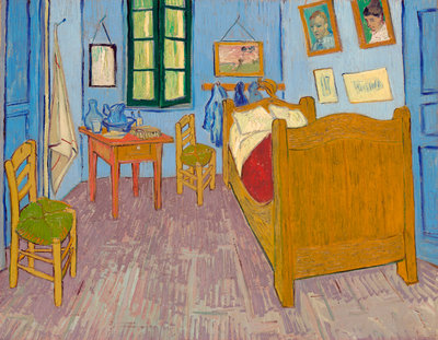 Bedroom in Arles Fine Art Print by Vincent Van Gogh