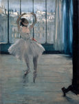 Dancer at the Photographer Poster Art Print by William Henry Hunt