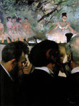 Musicians in the Orchestra Fine Art Print by Edgar Degas