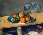 Apples, Pears and Grapes Fine Art Print by Paul Cezanne