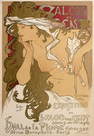 Poster for the XXth Exposition in the Salon des Cent, Paris, France Fine Art Print by Henri de Toulouse-Lautrec