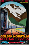 Golden Mountain, Pullman Express (Poster) Fine Art Print by French School