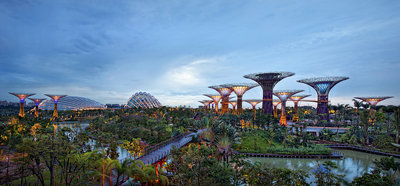 Gardens by the Bay Fine Art Print by Joseph Meng Huat Goh