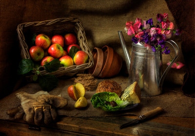 Gardener's Lunch Fine Art Print by Rob Dougall