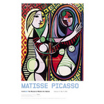 Girl Before a Mirror, 1932 (Exhibition version) by Pablo Picasso - framed art prints and framed pictures