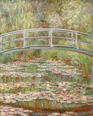Water Lily Pond, 1899 Poster Art Print by Claude Monet