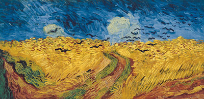 Wheatfield with Crows, 1890 Poster Art Print by Vincent Van Gogh