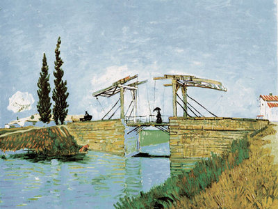 Bridge Fine Art Print by Vincent Van Gogh