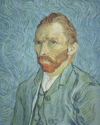 Self Portrait Fine Art Print by Vincent Van Gogh