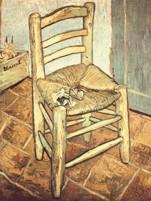 Van Gogh's Chair Poster Art Print by Vincent Van Gogh