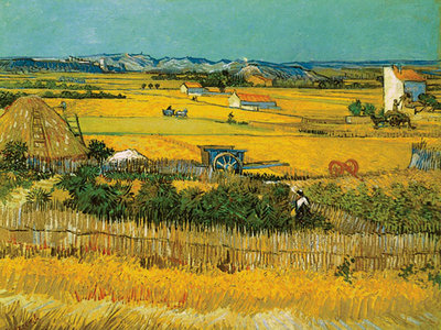 Field Poster Art Print by Vincent Van Gogh