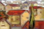 Village View Fine Art Print by Susan Osbjorn