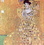 Portrait of Adele Bloch-Bauer I, 1907 Fine Art Print by Gustav Klimt