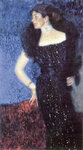 Portrait of Rose von Rosthorn-Friedmann Fine Art Print by August Macke