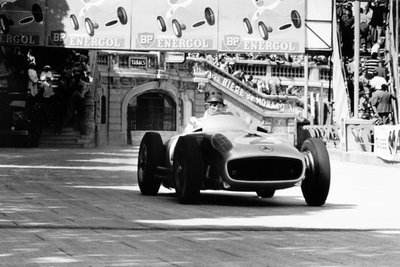 1955 Monaco Grand Prix. Monte Carlo, Monaco. 22 May 1955 Fine Art Print by Anonymous