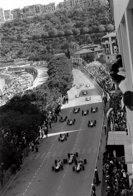 1964 Monaco Grand Prix. Monte Carlo, Monaco. 7-10 May 1964 Fine Art Print by Anonymous