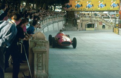 1957 Monaco Grand Prix. Monte Carlo, Monaco Wall Art & Canvas Prints by Anonymous