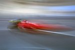 1994 Monaco GP, Monte Carlo, Jean Alesi, Ferrari 412T1, 5th position Fine Art Print by Anonymous