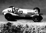 1937 German Grand Prix. Nurburgring, Germany. 25 July 1937. Rudolf Caracciola, Mercedes-Benz W125, 1st position, action. Wall Art & Canvas Prints by Anonymous