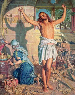 The Shadow of Death, 1870-73 Fine Art Print by William Holman Hunt