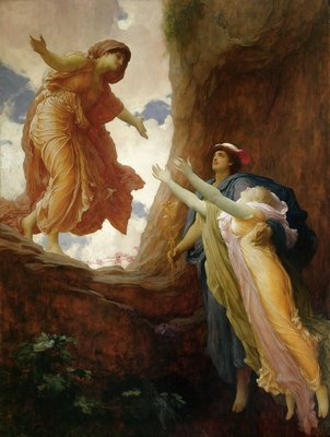 The Return of Persephone, c.1891 by Frederic Leighton - print