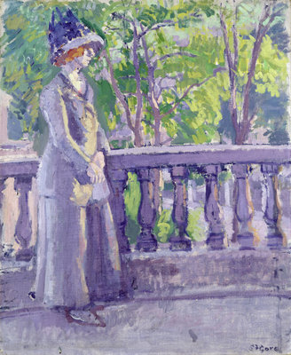 The Balcony, Mornington Crescent, 1911 by Spencer Frederick Gore - print